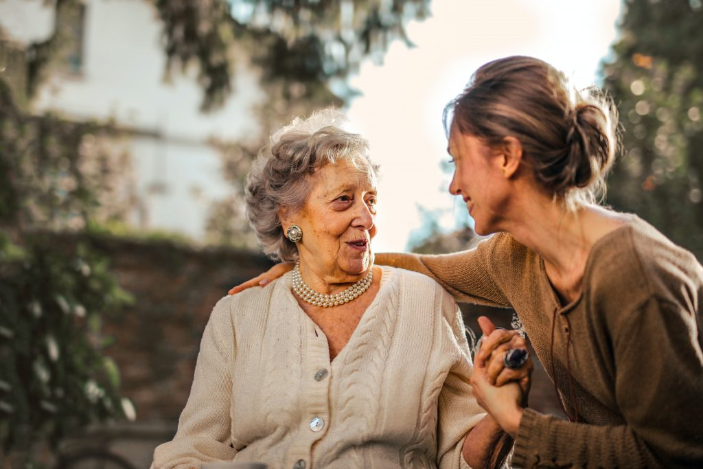 accept in-home care